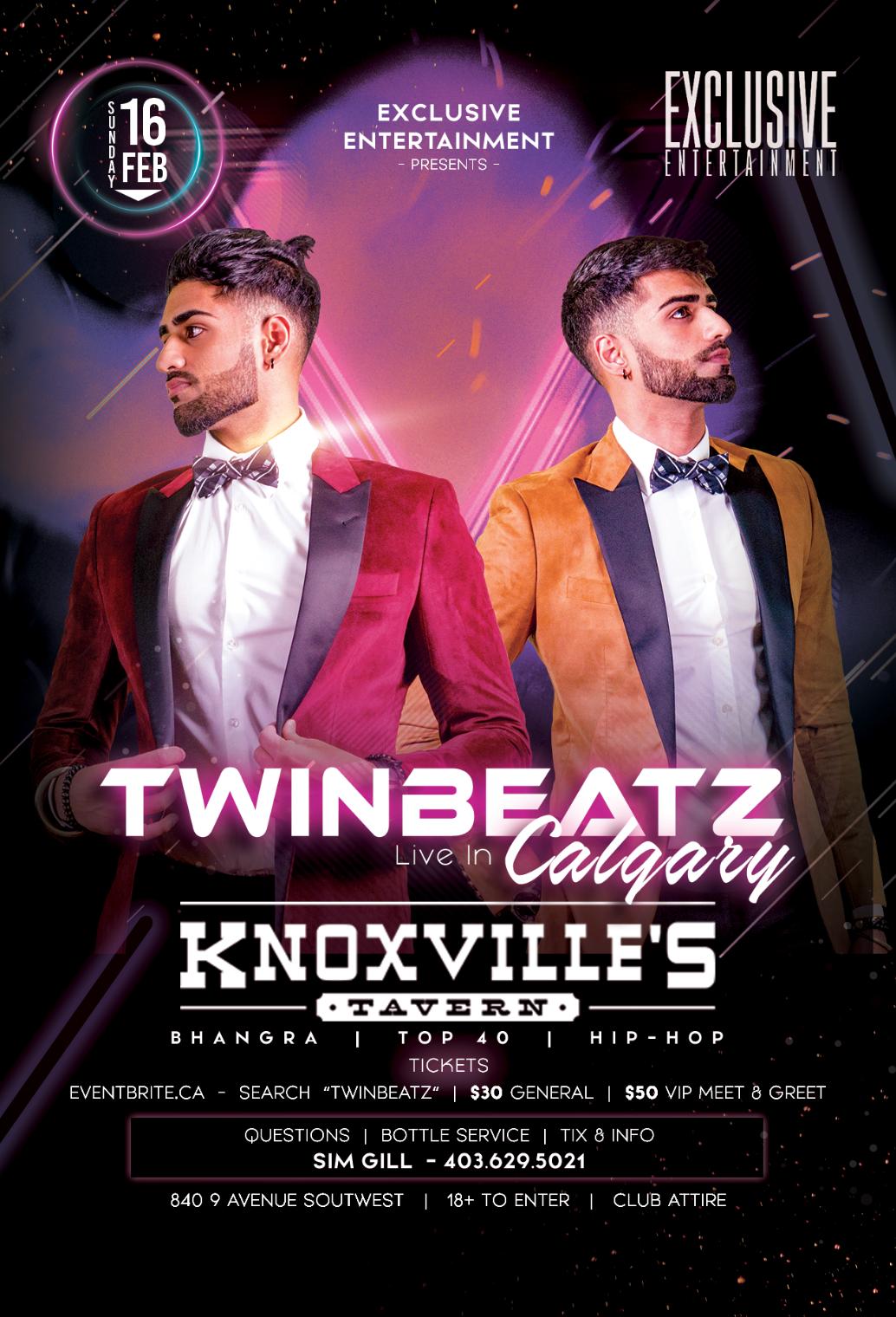 Twinbeatz Live at Calgary 2k20