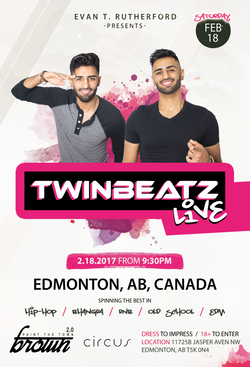 Twinbeatz Live at Edmonton