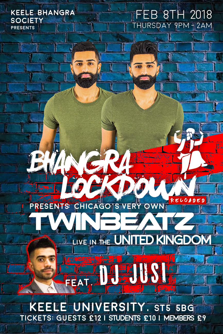 Bhangra Lockdown Ft. Twinbeatz at UK