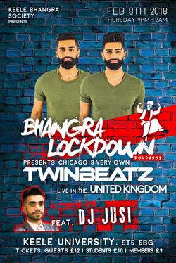 Bhangra Lockdown Ft. Twinbeatz at UK