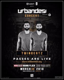 Twinbeatz at Urbandesi Conferenc