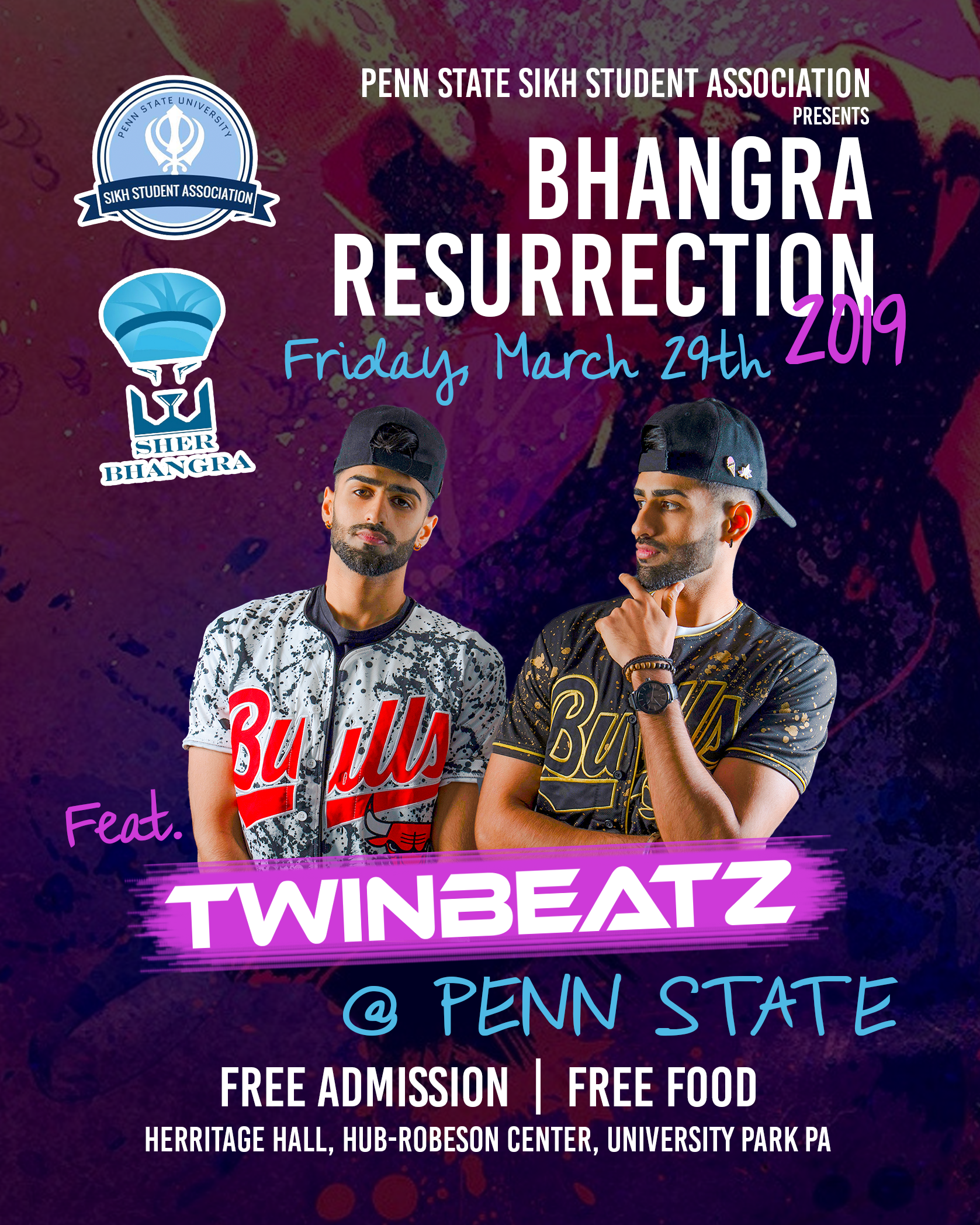 Twinbeatz Live at Penn State