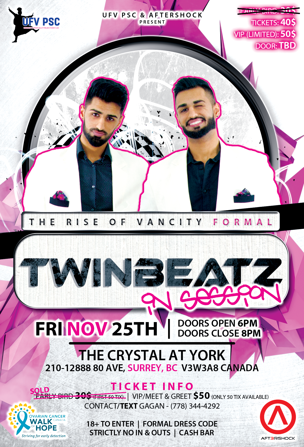 Twinbeatz Rise of Vancity Formal