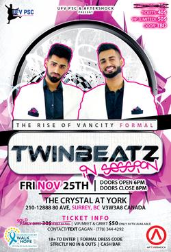 Twinbeatz Rise of Vancity Formal