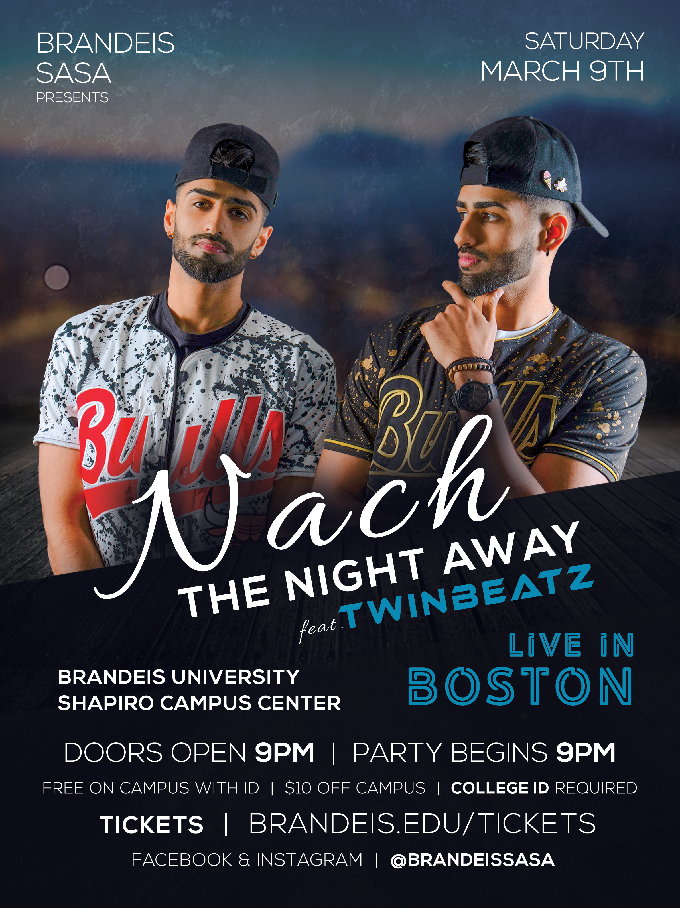Twinbeatz Live at Brandeis University