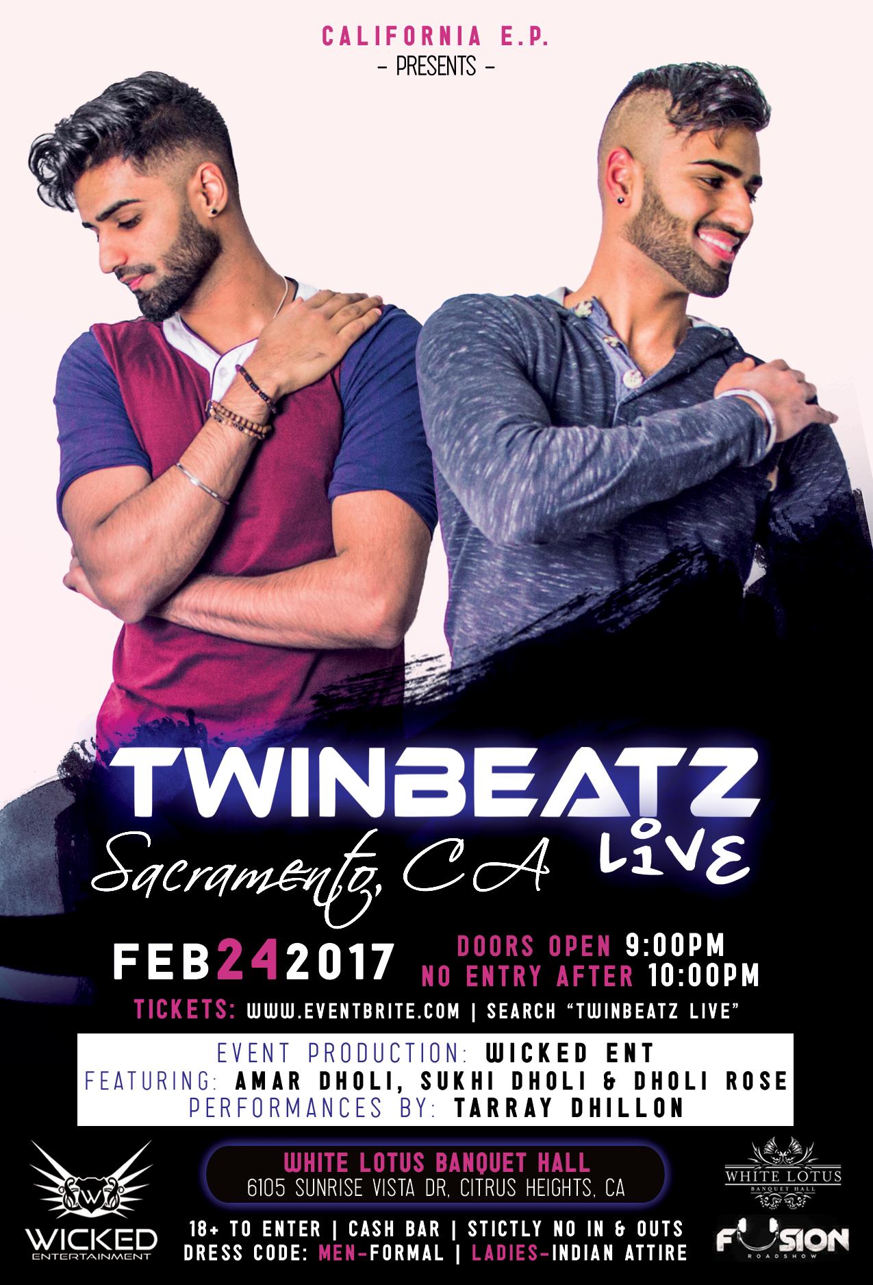 Twinbeatz Live at Sacramento