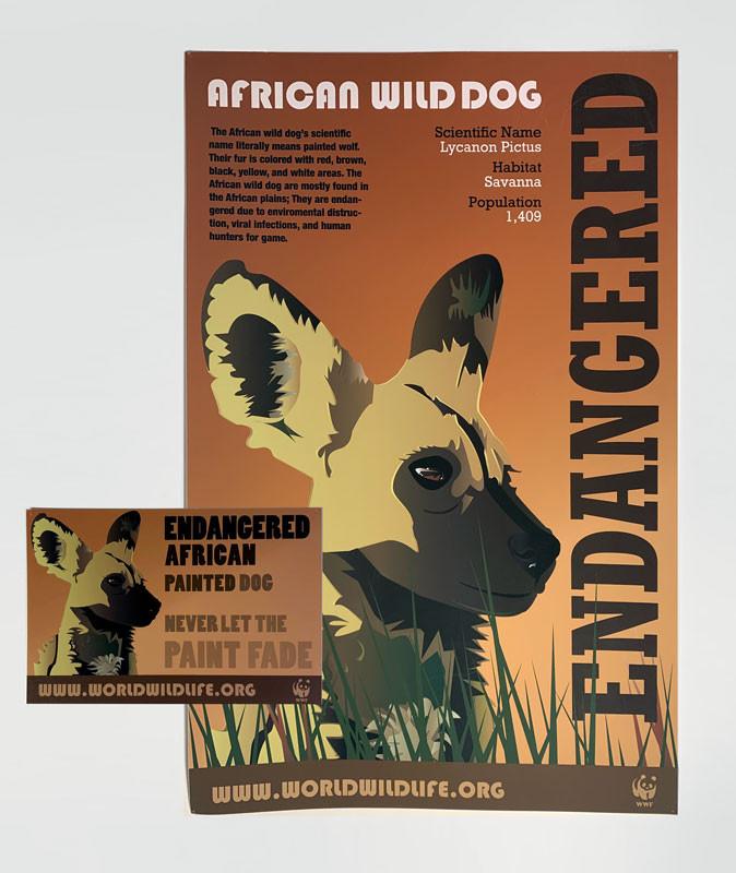 African Wild Dog, John Riley