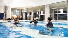 홍신택, 류지은님 베이직프리다이빙 교육 at 성남아쿠아라인