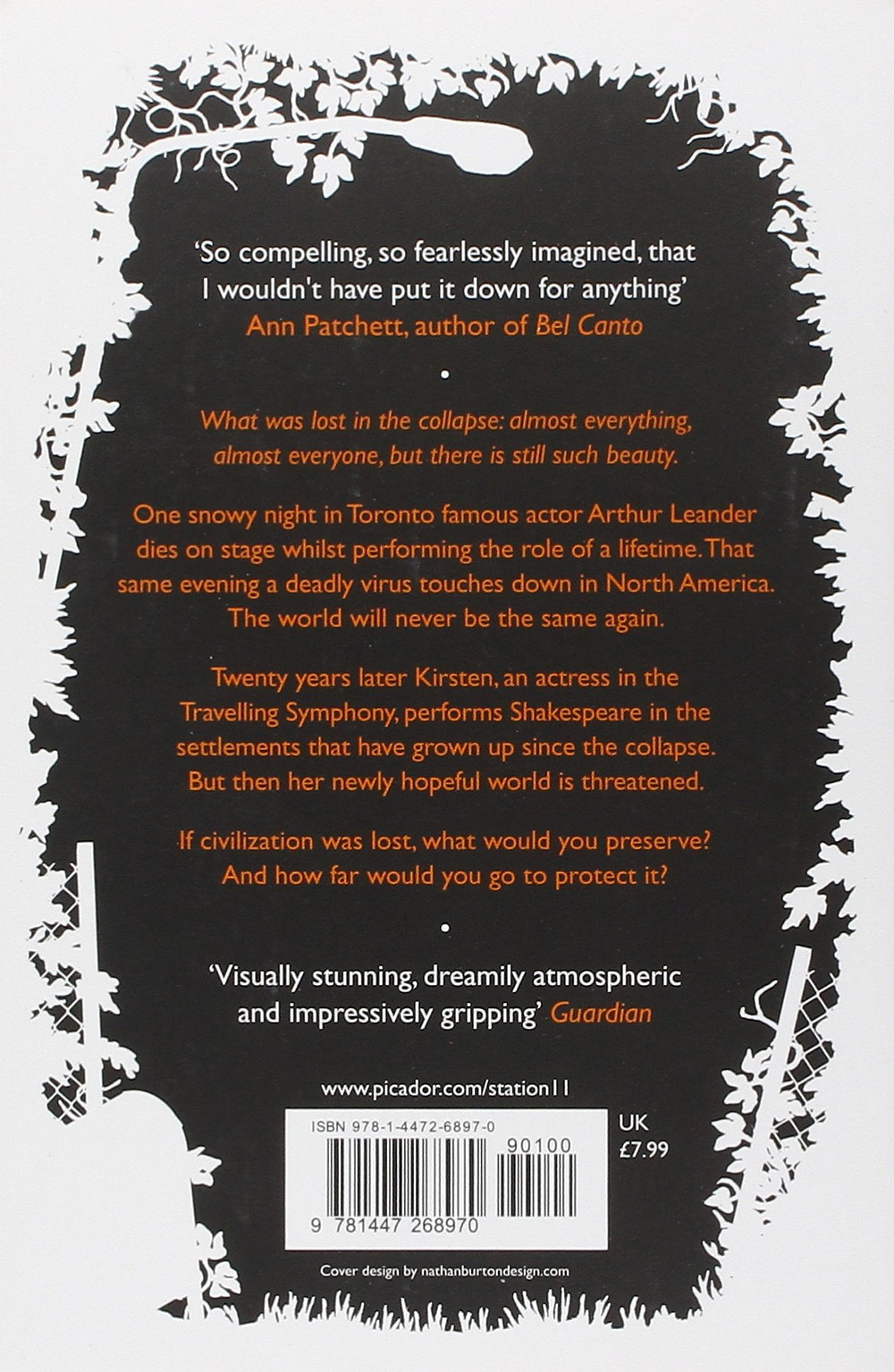Review of the book station eleven fiction novel
