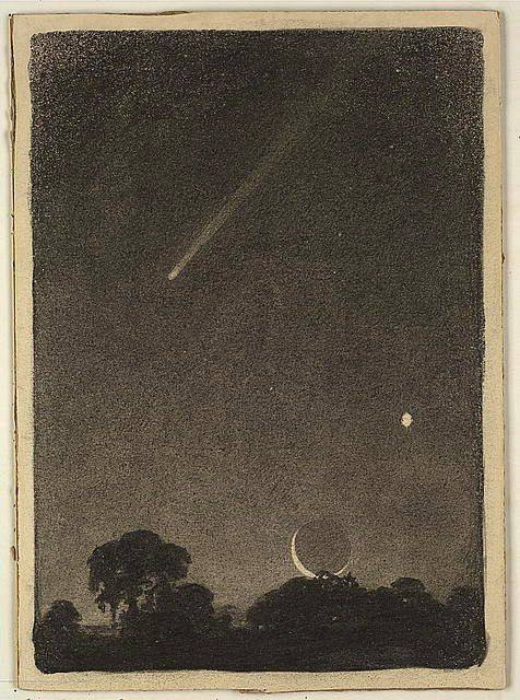 Hailey's comet at dawn, 1908 by elizabeth shippen green