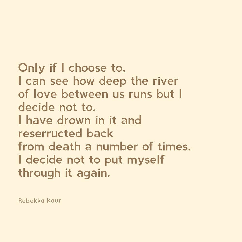 Rebekka Kaur love poetry