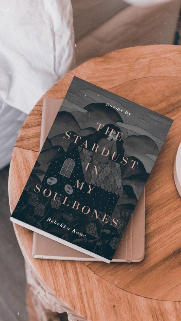 The stardust in my soulbones book wriiten by Rebekka Kaur