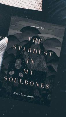 The stardust in my soulbones book by Rebekka Kaur