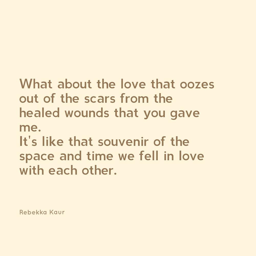 Love poems aesthetic