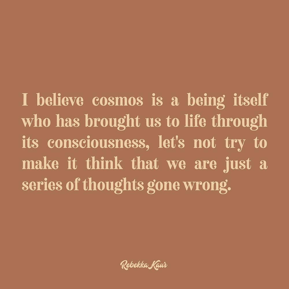 Cosmos quotes aesthetic
