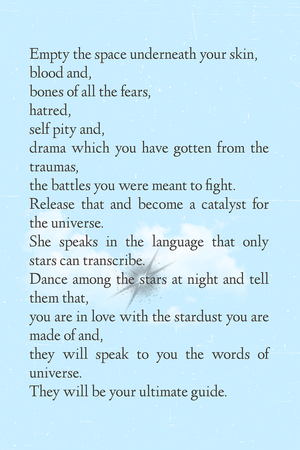 poetry about stars