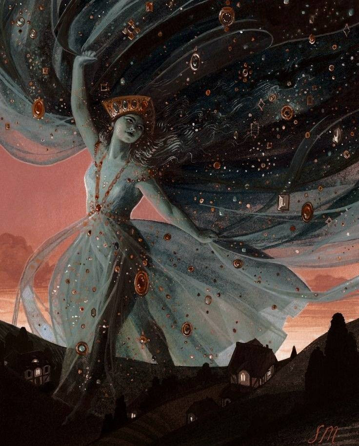 Cosmos and chaos in women goddess