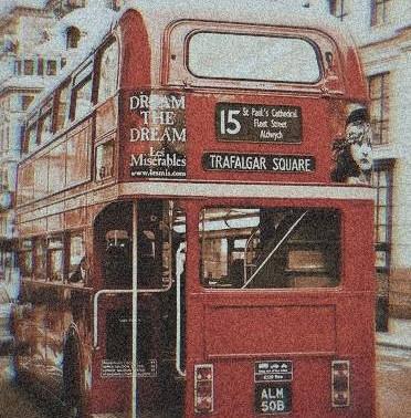 London bus station