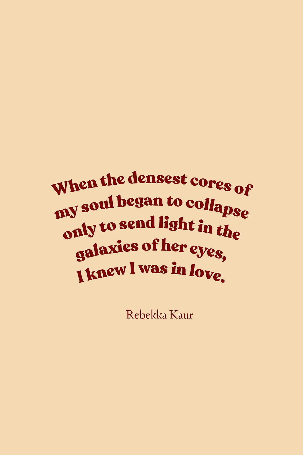 quotes about stars by Rebekka Kaur