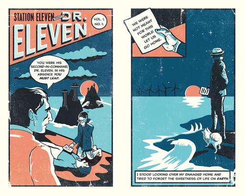 Station eleven comic written by miranda