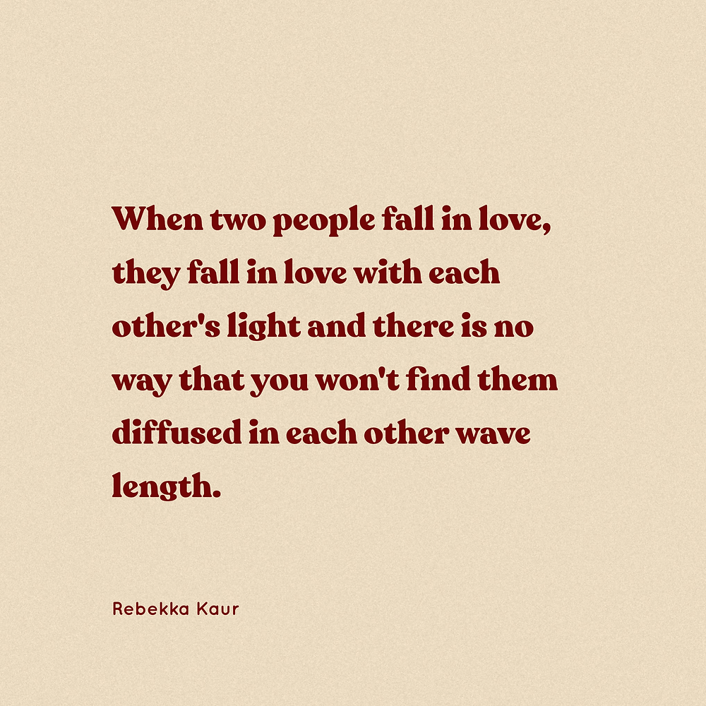 aesthetic quotes about falling in love