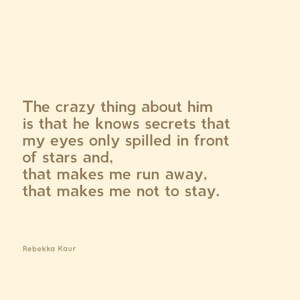 Aesthetic  heartbreak poetry