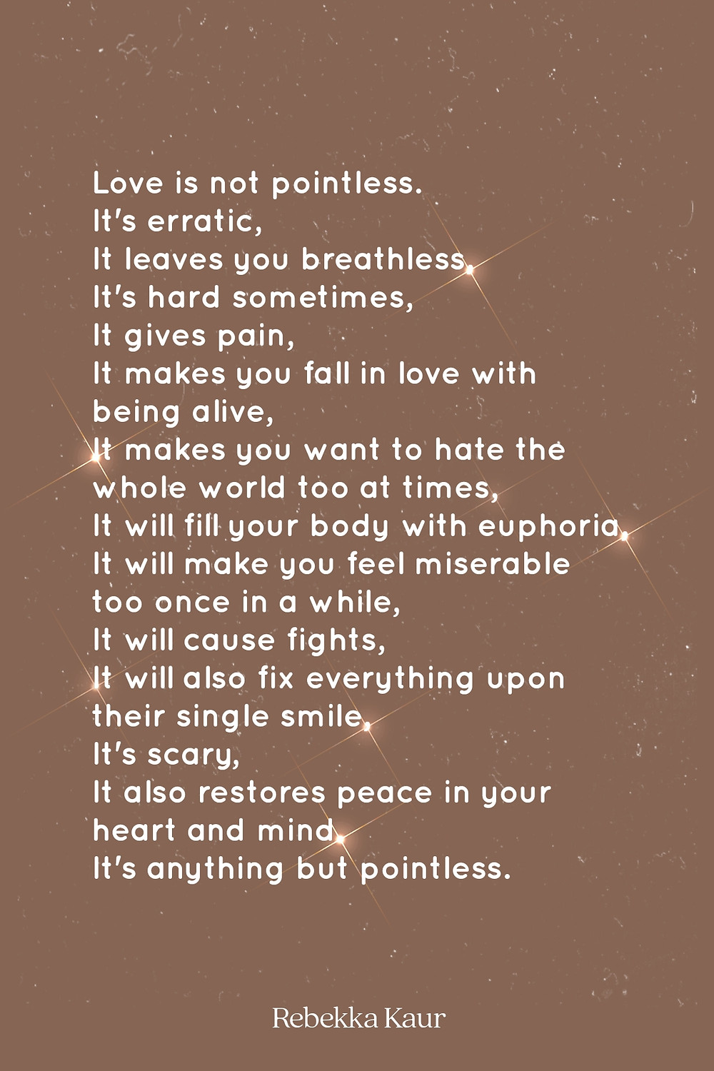 Poems about love