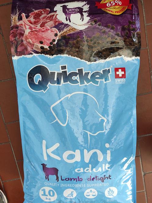Quicker za odrasle pse 10kg (janjetina)