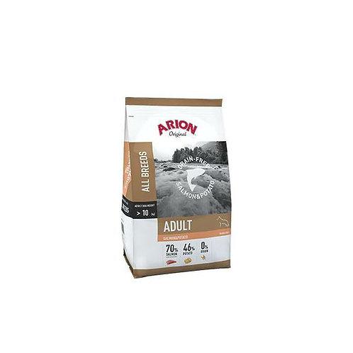 Arion GrainFREE Losos i krumpir 12 kg, 3kg