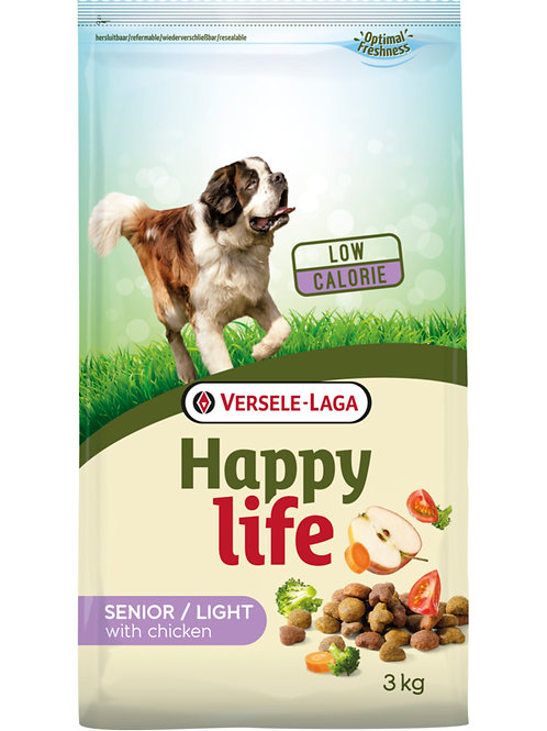 Versele Laga Happy Life piletina za stare i pretile pse (light)