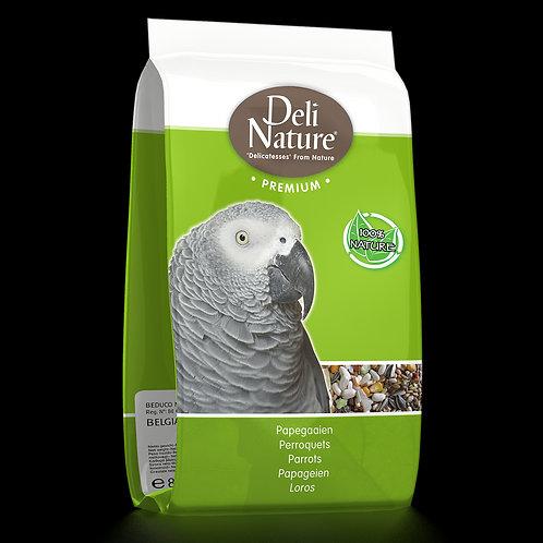 Deli Nature Premium Parrots sa voćem (za velike papige) 800g
