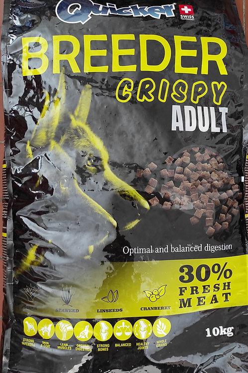 Hrana za odrasle pse Crispy 10kg 28/15