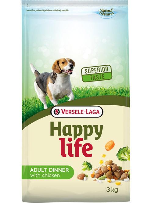 Versele Laga Happy Life piletina za odrasle pse (večera)