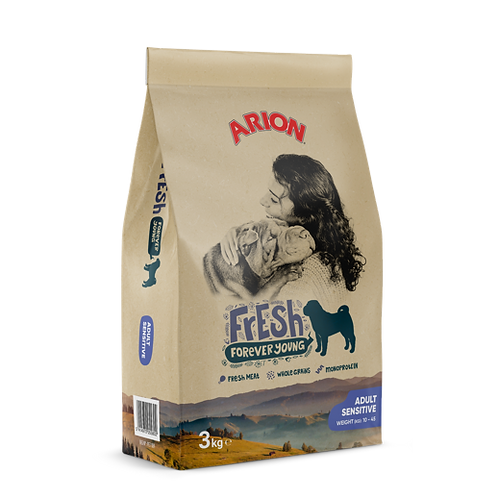 Arion Fresh za odrasle osjetljive pse 12kg