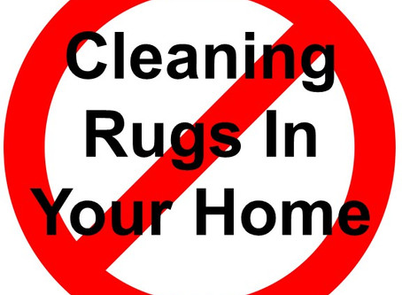Cleaning Rugs In Your Home - Risks and Issues