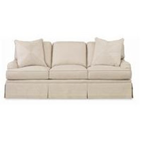 Sofa - 8ft - Synthetic - 6 cushion (includes fabric protection)