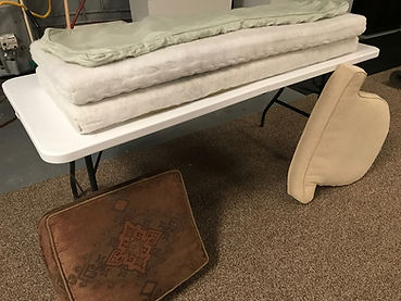 Let us clean your indoor furniture cushions!