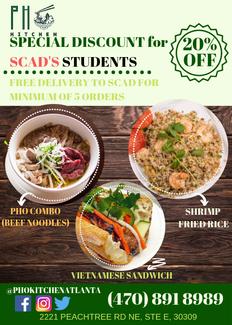 Pho Kitchen Atlanta Noodles Soup Rolls United States