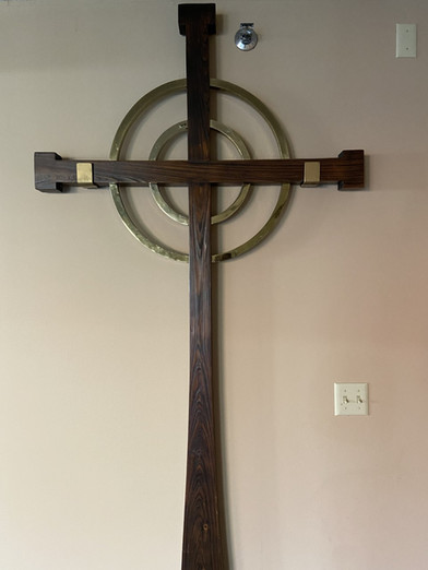cross in the St. Martin Room