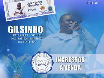 Consulado da Portela RS recebe Gilsinho