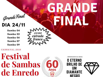Imperadores realiza final de samba neste sábado