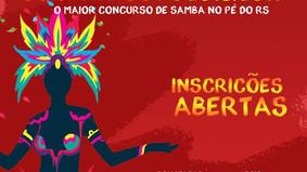 Abertas inscrições para Rei e Rainha do Samba 2019