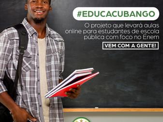 Acadêmicos do Cubango busca parceiros para seu projeto social