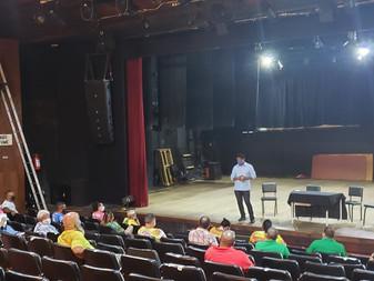 Pasta da Cultura promove encontro com presidentes das escolas de samba