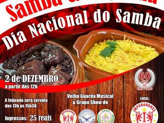 Dia do Samba com Feijoada e super encontro