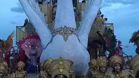 Restinga canta reis da história e encerra carnaval de 2019