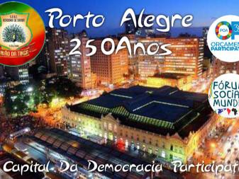 União da Tinga troca enredo para homenagear a democracia em Porto Alegre