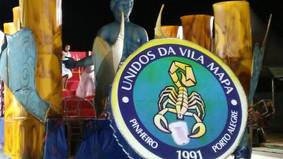 Com harmonia e bateria fortes, Vila Mapa agita avenida