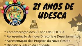 UDESCA prepara comemoração para os seus 21 anos