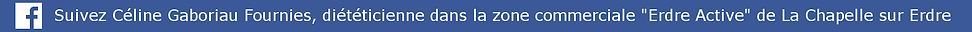barre facebook clicable qui renvoie vers la page du cabinet de la chapelle sur erdre